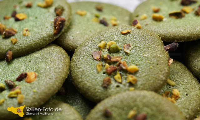 Kekse mit Pistazien aus Bronte