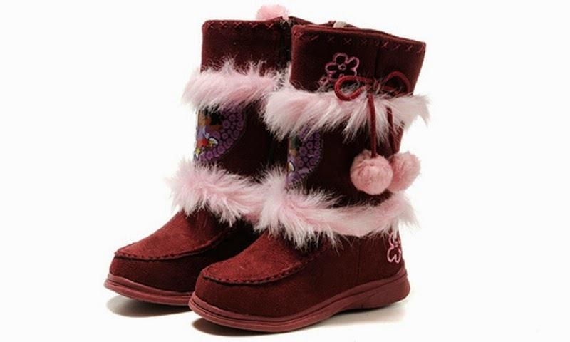 Gambar sepatu boot untuk anak