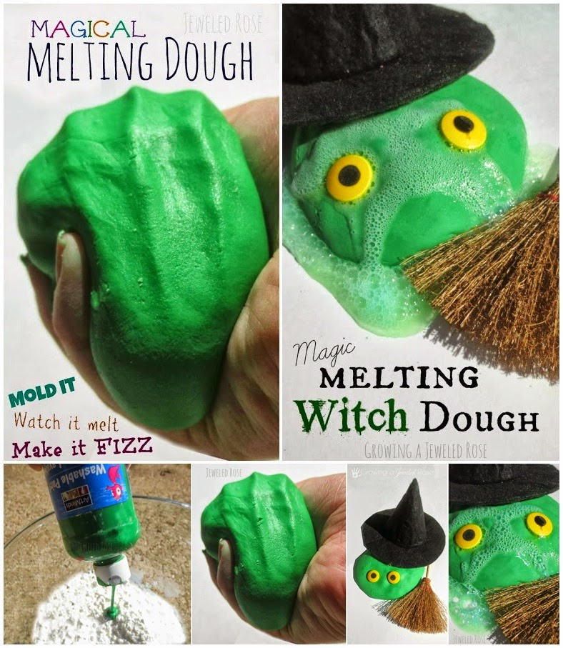 DIY Magical Melting Dough