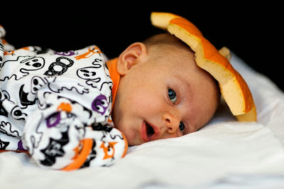 Babybild Halloween