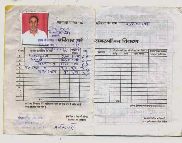 Andhra Pradesh Ration Card | AADHAR Ration Pan & Voter ID Card