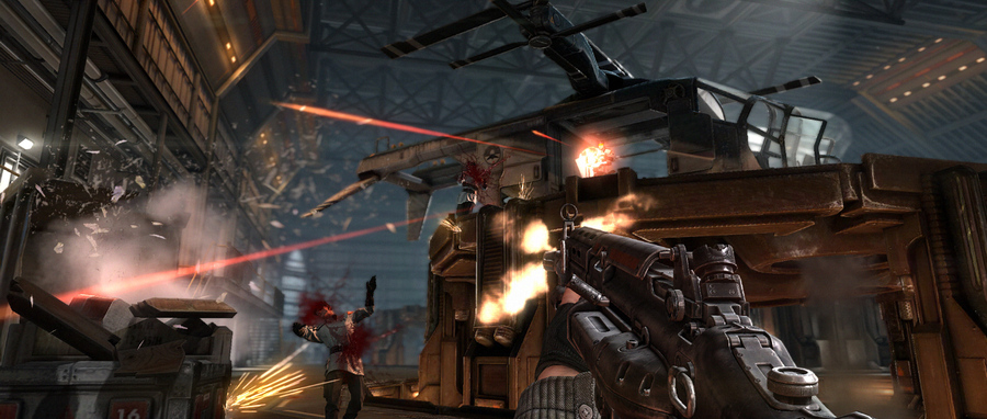 Wolfenstein The New Order screenshot