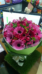 The most beautiful bouquet I ever seen..Thank you My Hubby, My Love