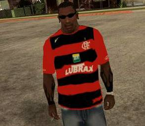 Camisa do Flamengo para Gta