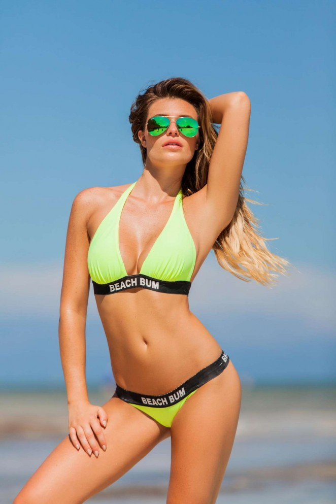 Plumeria Swimwear Lookbook 2015 featuring Samantha Hoopes