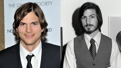Aston kutcher as steve jobs in upcoming movie
