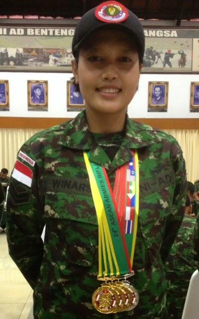 Sertu Korps Wanita TNI AD (Kowad) Winarsih
