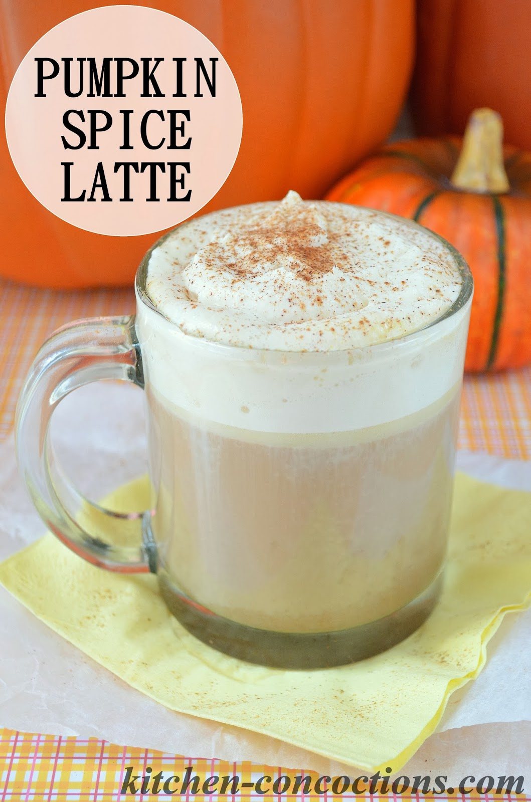 Pumpkin Spice Latte - Kitchen Concoctions