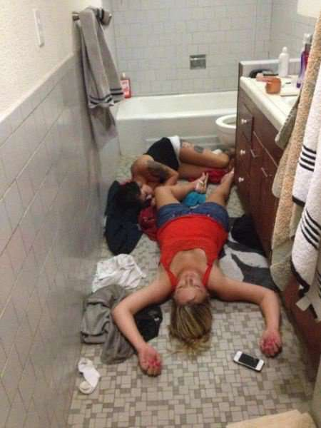 foto orang mabuk berat hahaha