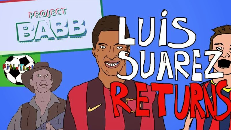 Luis Suarez: Biting Talk