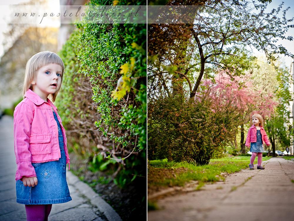 wiosna na Saskiej Kępie