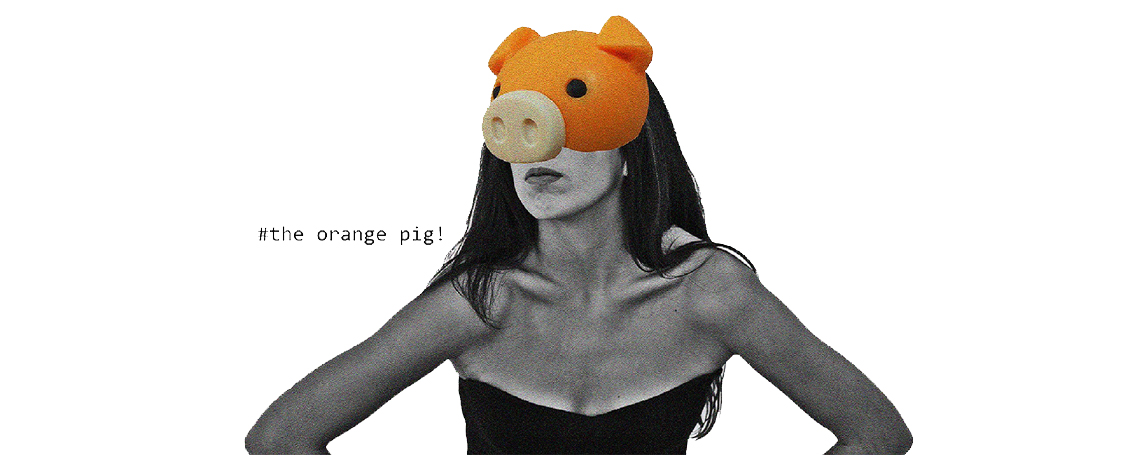 The Orange Pig!