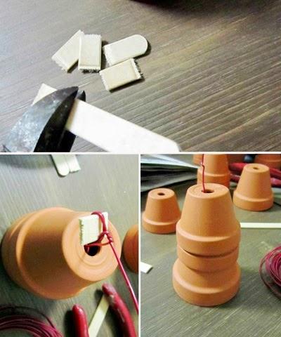 como hacer macetas decorativas
