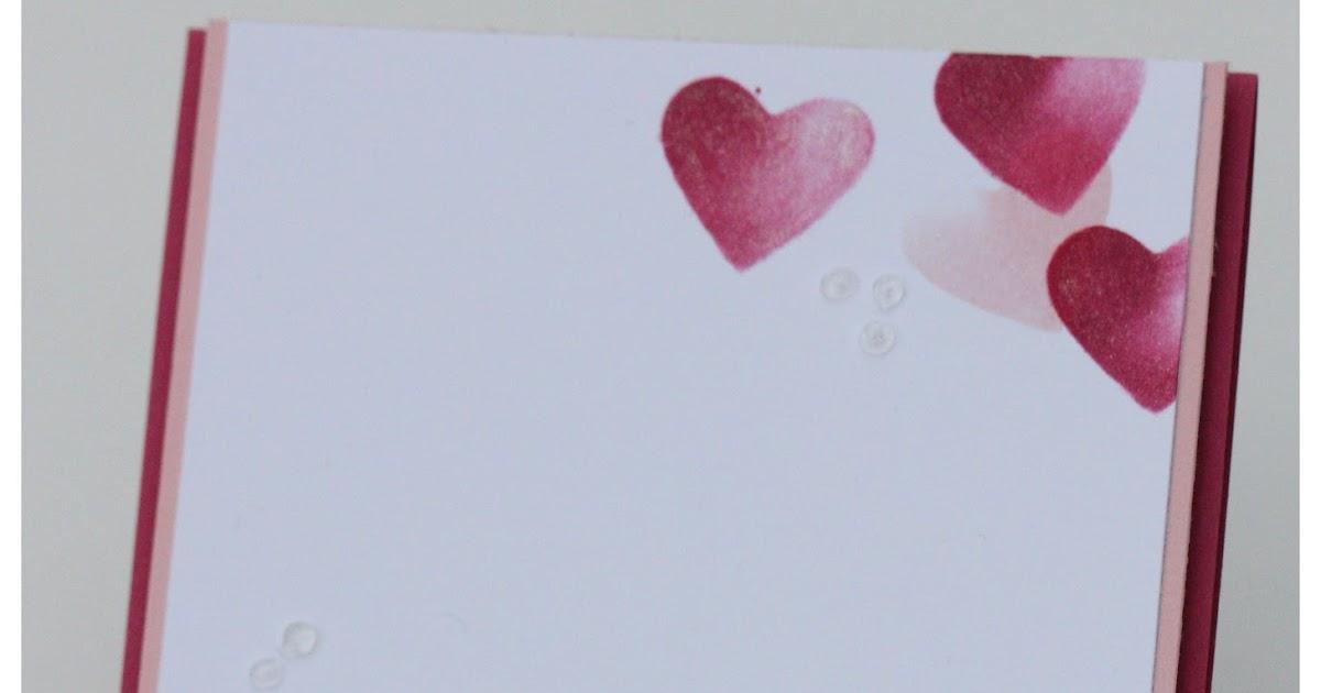 ... Glückwunsch euch Beiden (oder auch: Hochzeitskarte mit Stampin Up