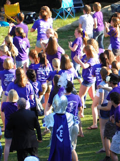 Furman Flash Mob at Falls Park in Greenville, SC