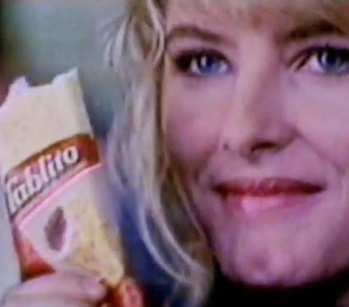 Propaganda do picolé Tablito nos anos 90 regado a muito romance.