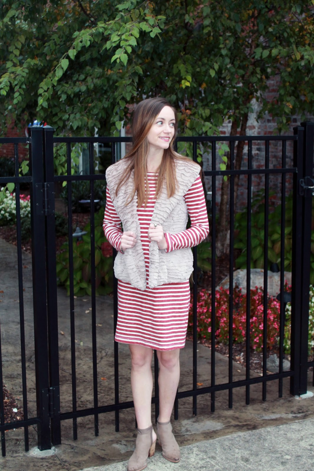Striped shift dress from Gap