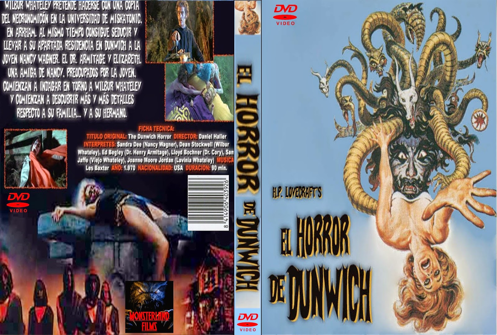 Terror en Dunwich (The Dunwich Horror, 1970)