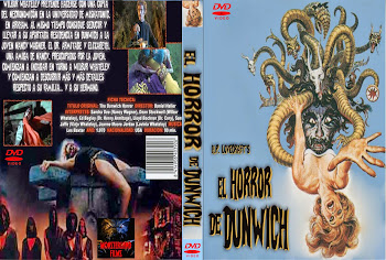 Carátula dvd: Terror en Dunwich (1970) (The Dunwich Horror)