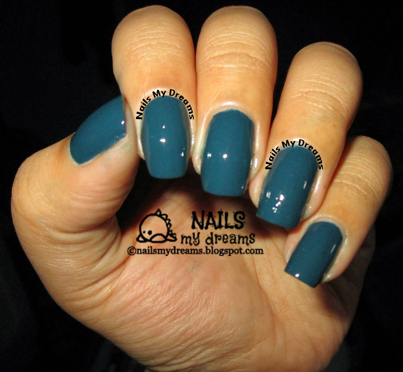 Nails My Dreams: Reuniting With My Dazzle Dry Mythic Teal!...