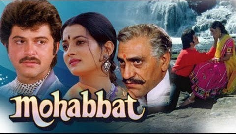 mohabbat 1985 love story dvdrip hd x264 eng sub for anil