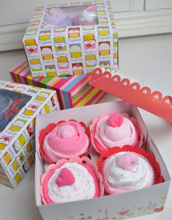 Baby Shower Cupcake Gift Ideas : Faking Fancy Cupcakes: Cute Cupcake Gift Ideas #5
