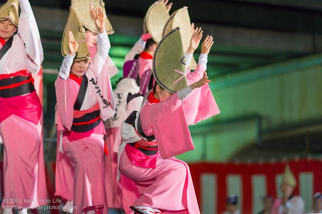経堂まつり 2015年 経堂むらさき連 女踊り