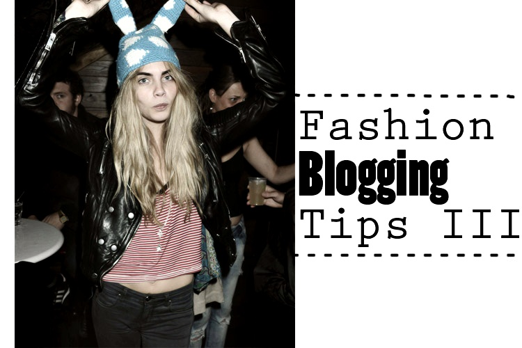 fashion blogging tips image