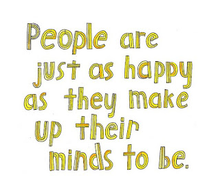 Happy as they make up their minds to be quote