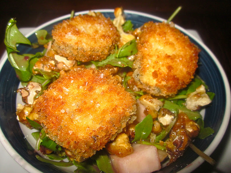 Fried Goat Cheese Salad Recipes — Dishmaps