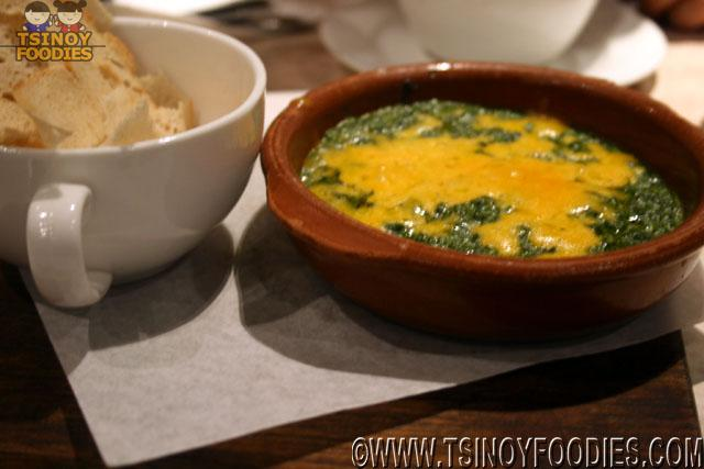 spinach and black truffle dip