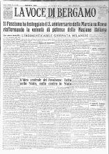 LA VOCE DI BERGAMO 29 OTTOBRE 1925