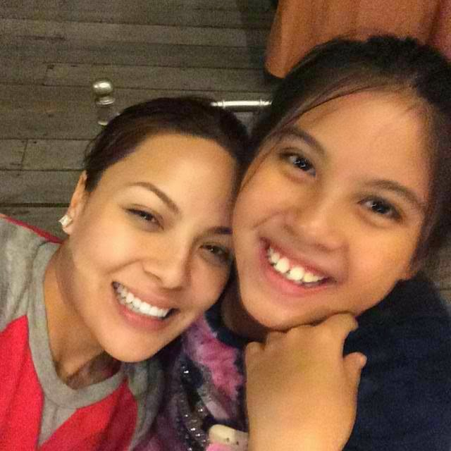 KC Concepcion who is rumored to be the mother of Miel posted a photo together.