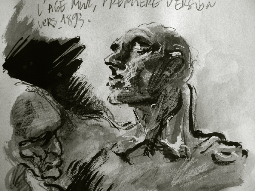 Vincent grav dessins l 39 ge m r premi re version - Camille dessin ...