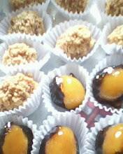 doces caramelados