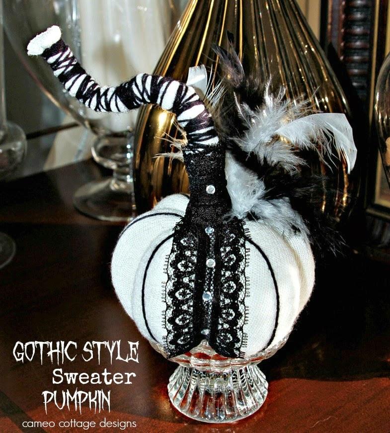 Gothic Style Sweater Pumpkin