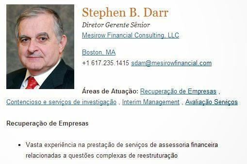 Este Profissional pode vir a ser a Administrador Fiduciário da Telexfree