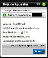 Apuestas Rosberg Mallorca-Real Madrid Fútbol – Liga BBVA España Titanbet
