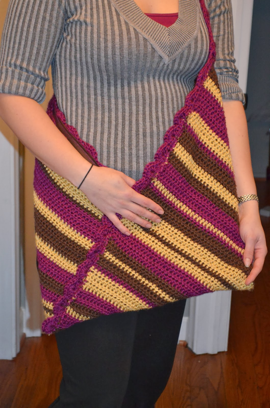 Craft Disasters and other Atrocities: Crochet Origami Bag