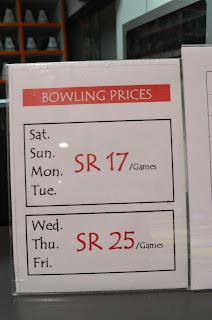 Bowling-Riyadh-Price