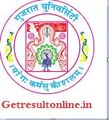 Gujarat University Results 2016