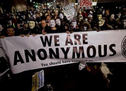 """Anonymous Seluruh Dunia Kembali Beraksi """"Million Mask March"""""""