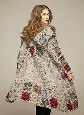 Crochet Patterns to Try: Crochet Winter Coats - Charts and ...