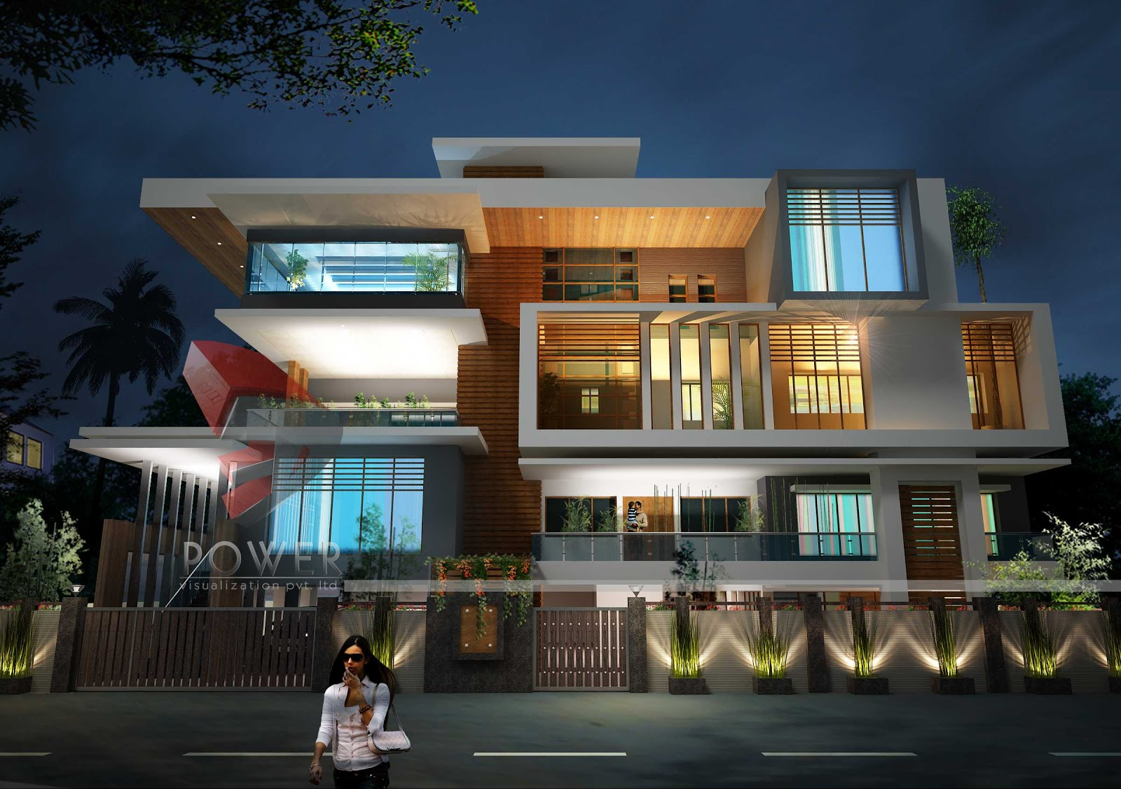 Ultra modern home designs home designs time honored for Elevated modern house design