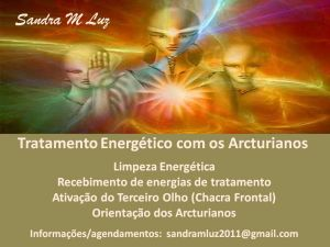 ARCTURIANOS - TRATAMENTO ENERGÉTICO