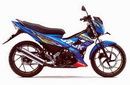 Suzuki Satria FU150 MotoGP Edition 2015 (versi standar)