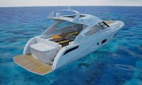 3d model searay yacht boat