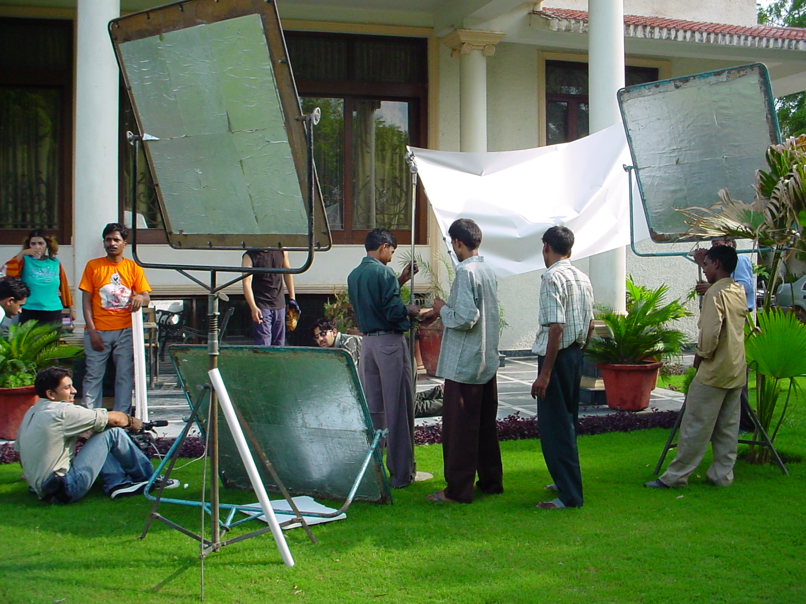 Crew on Location