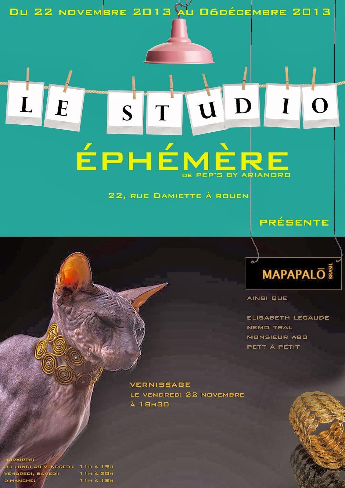 STUDIO EPHEMERE ROUEN edition 2 à suivre