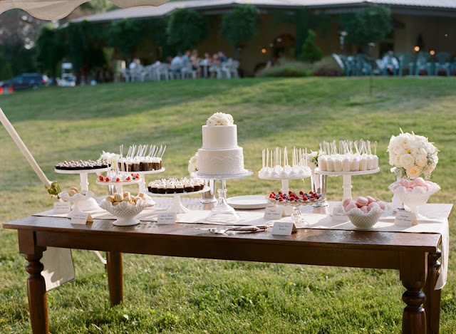Minneapolis Wedding Cake and Dessert Table by Cocoa & Fig